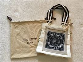 Louis Vuitton Trunks and Bags canvas tote