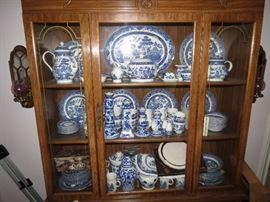 China Cabinet, Blue Willow and More