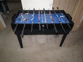 Multi-Game Fooseball Table