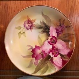 Signed Noritake Plate