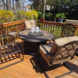 Outdoor Patio Sets/Weber BBQ