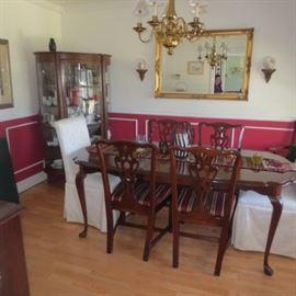 Ethan Allen Dining Room Suite