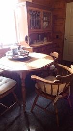 early american kitchen set