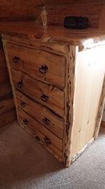 custom log dresser