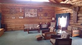 vintage living room furniture
