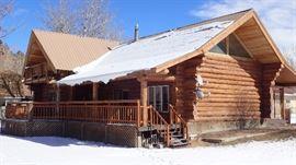 Beautiful Log Home Estate Sale