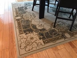 one of several area rugs
