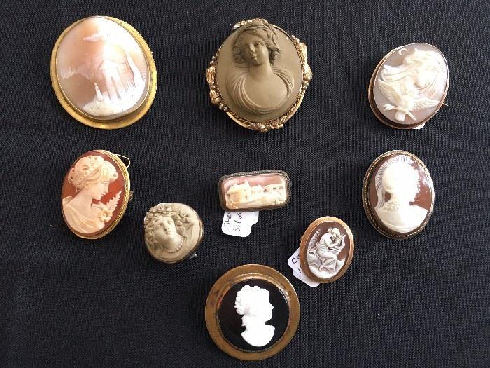 Antique Cameo Collection