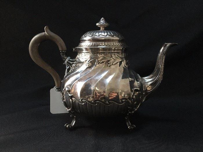 Sterling Tea Pot