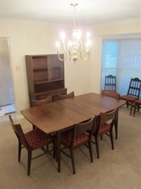 Broyhill Premier dining room table / china hutch / server