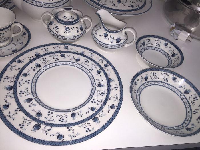 Royal Doulton complete china set