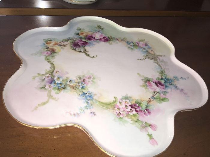 Vintage WG & Co.porcelain dresser tray