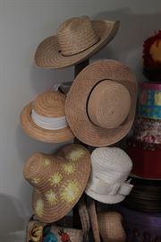 Hundreds of hats, literally hundreds