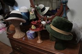 Did we mention there was a lot of hats?