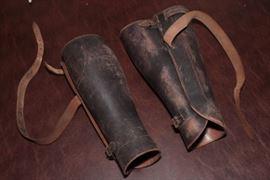 WW1 Leather Leggings