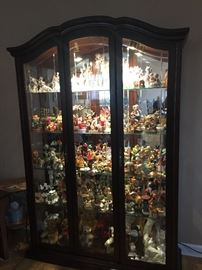 Gorgeous curio cabinet for sale