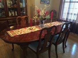 Queen Anne Style Dining Room set.