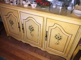 Buffet to match the French Provincial Dining Table