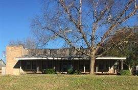Mont Helena Plantation office & 7500 sq. ft. warehouse.  100 year old warehouse full of treasures.