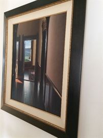 Edward Gordon enhanced Giclee on Canvas - no auction records yet as he is a current artist -