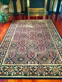 5.7 x 8.5 thick oriental carpet, the highest quality carpet you can buy and in pristine condition!!!