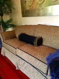 Custom upholstered sofa in great condition!