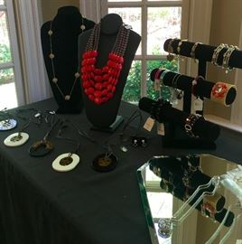 A great selection of new and estate jewelry!