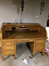 Orick rolltop desk
