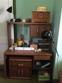Desk, Night Stand, Office Supplies