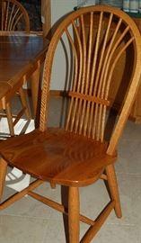 Kitchen Chair Detail