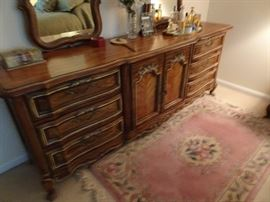 Stanley Triple Dresser with Double Mirror