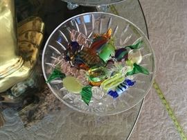 Murano glass candy