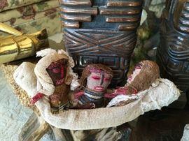 Peruvian burial dolls