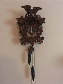 Antique Coo Coo clock