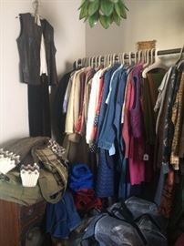 MOUNDS of vintage clothing & accessories from all eras and for all seasons (mostly women's)