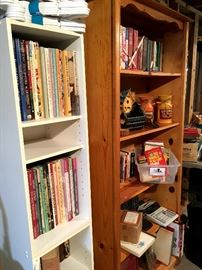 Several Bookcases...