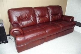 Dual Power Recliner Sofa
