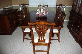 Formal Dining Table W/8 Chairs