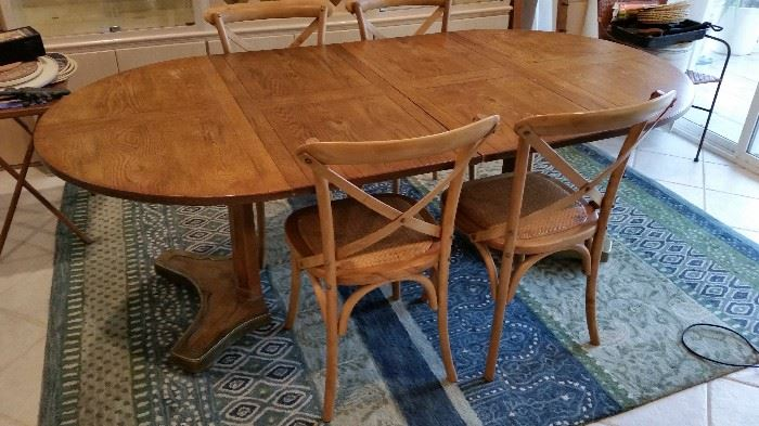 Mid Modern Table and Chairs