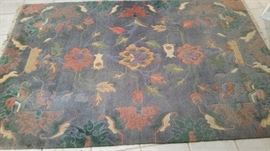 Fabulous Hand Knotted Wool Rug- Room Size
