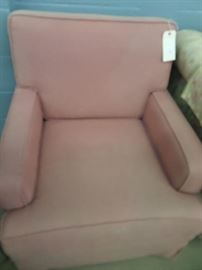 SET OF 2 PINK CHAIRS