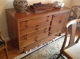 Mid Century Buffet - drawers and cabinet $ 320.00