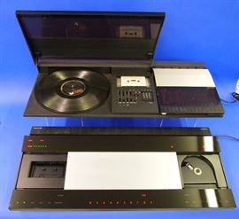 Bang & Olufsen Bio Center 2200 Turntable & Cassette AM/FM Radio, Bang & Olufsen BEO Center 9000 CD/Cassette