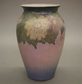 Rookwood Vellum vase by Elizabeth Lincoln