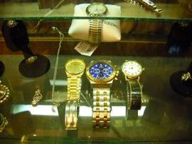 invicta, ball railroad watch and 2 seikos