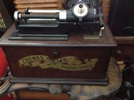 A few phonographs
