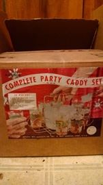 N.O.S..NEW OLD STOCK....PARTY CADDY IN ORIGINAL BOX!!