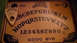 VINTAGE OUIJA BOARD W/ ORIGINAL BOX..COMPLETE !!!  1938