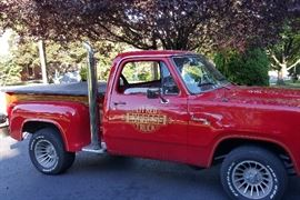1978 Custom L'il Red Express w/modified police engine - V8, 360-4 barrel carb special, 94K miles RESTORED!