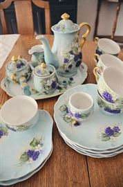 Hand-painted china